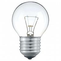 Лампа накаливания Stan 40Вт E27 230В P45 CL 1CT/10X10 Philips 926000006412